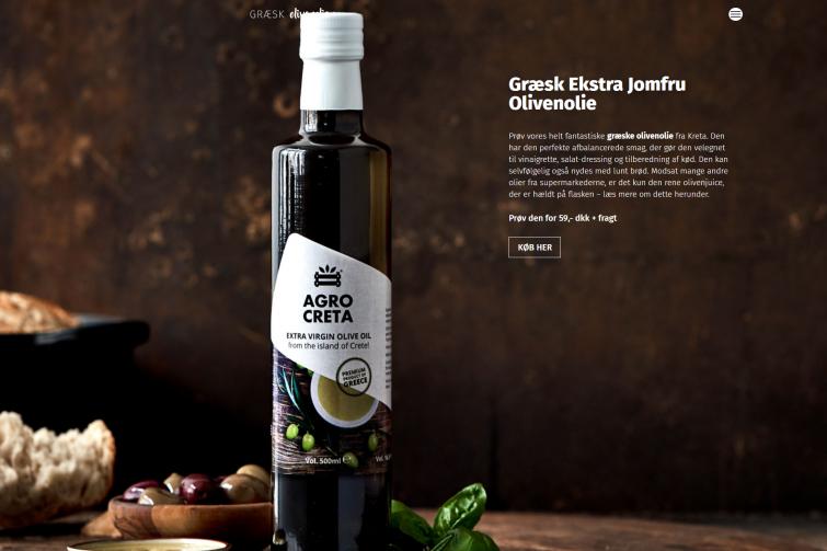 Græsk Olivienolie